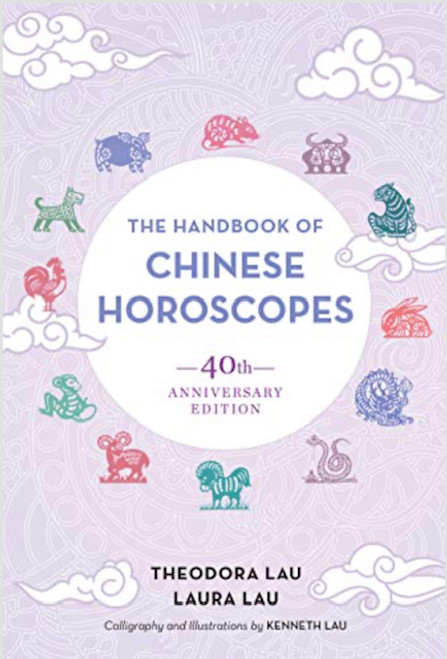 Handbood of Chinese horoscopes 40th Anniversary edition. 434-pages. Soft-cover.