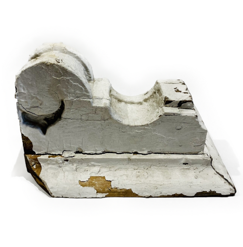 Vintage wooden corbel. Can be used as a small shelf, book end or just decor.