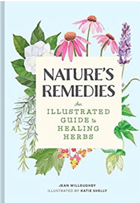Illustrated guide to healing herbs. Jean Willoughby. 160-pages.
