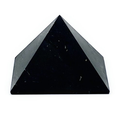Shungite: Energy embodied within this ancient stone is said to absorb and eliminate anything unhealthy to human life, including harmful electromagnetic frequencies. Reported to contain fullerenes.  Found in Karelia, Russia.