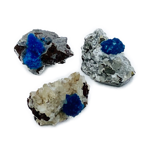 Cavansite: Rare stone that assists with clearing communication and dreams. Note: Please allow us to select your stone. If you prefer, you may also DM us on Instagram or phone the boutique to choose your stone.