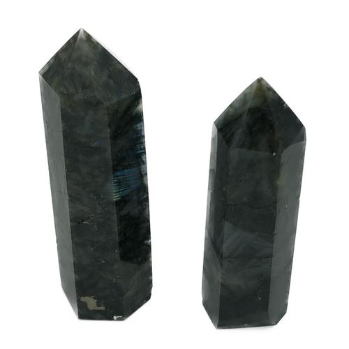 Labradorite Obelisque. Strengthens Faith in the Self. Stone of Transformation. Balance.