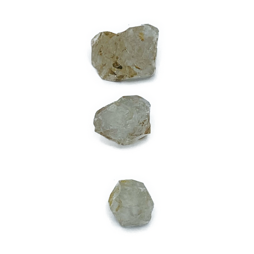 Herikimer Diamonds: Ascension stone that boosts clairvoyance.