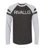 Rivalus Long Sleeve Distressed Jersey T-shirt
