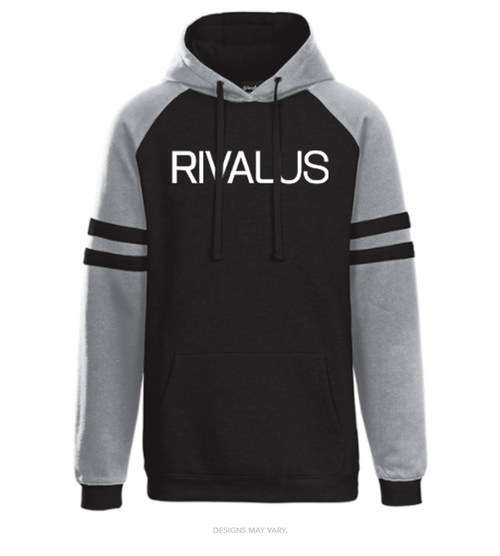 Rivalus In Play Raglan Striped Hoodie