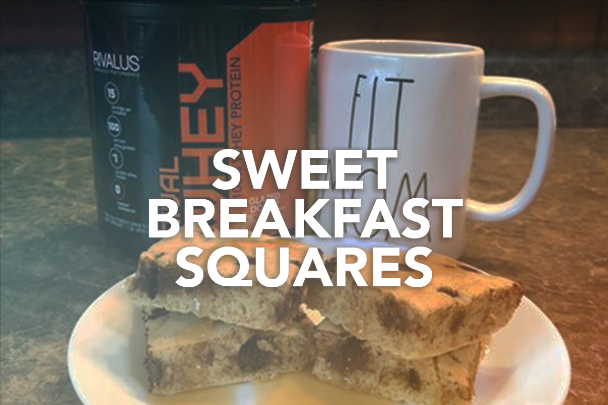 Rivalus At Home Recipes: Sweet Breakfast Squares
