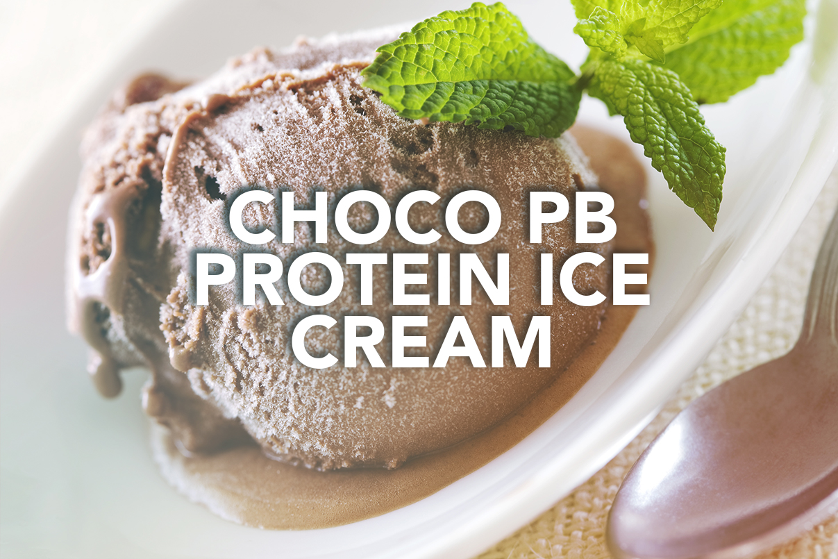Rivalus At Home Recipe: Choco PB Protein Ice Cream