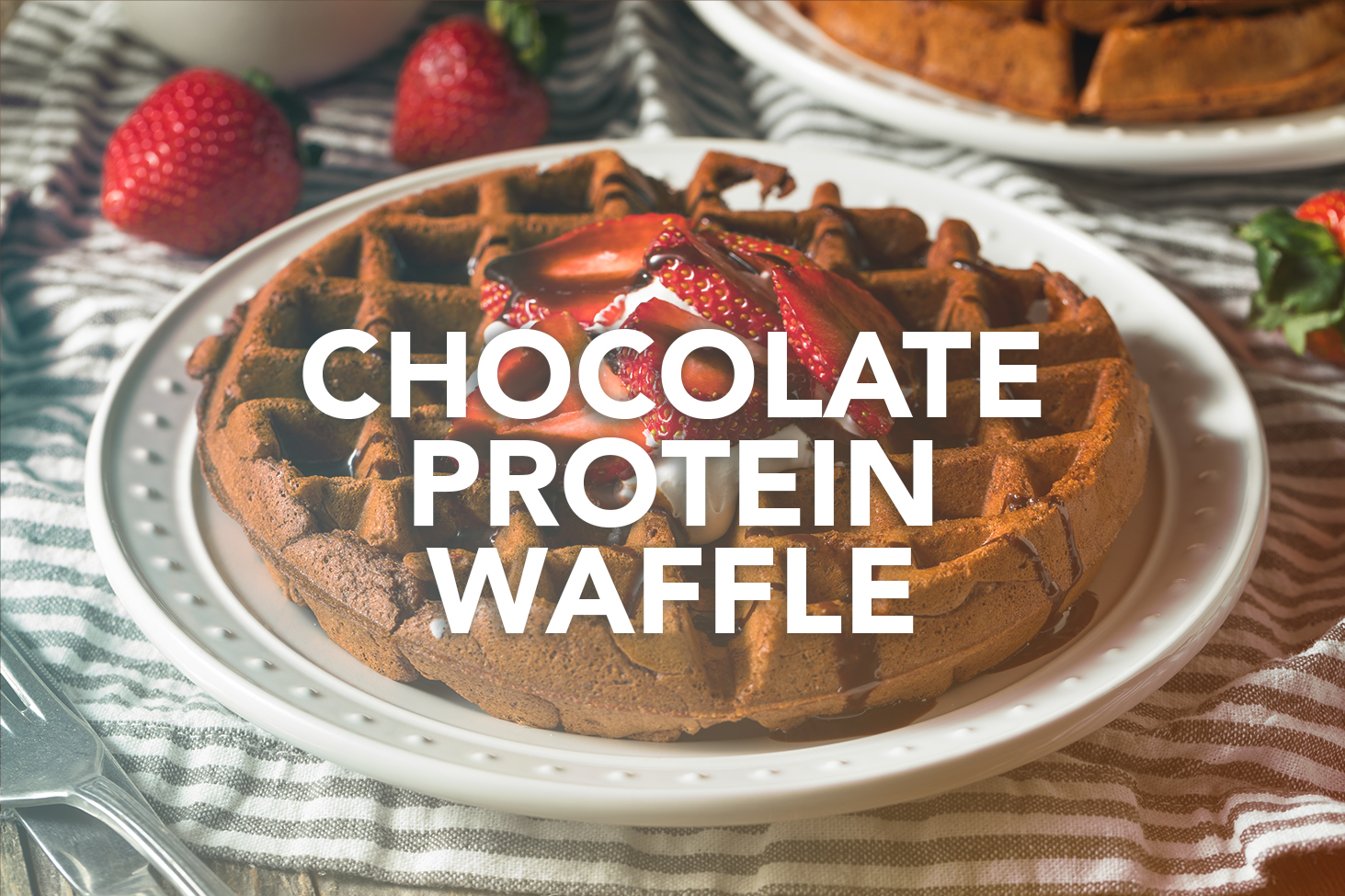 Rivalus At Home Recipes: Chocolate Protein Waffle