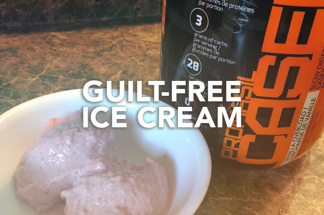 Rivalus At Home Recipe: Guilt-Free Ice Cream