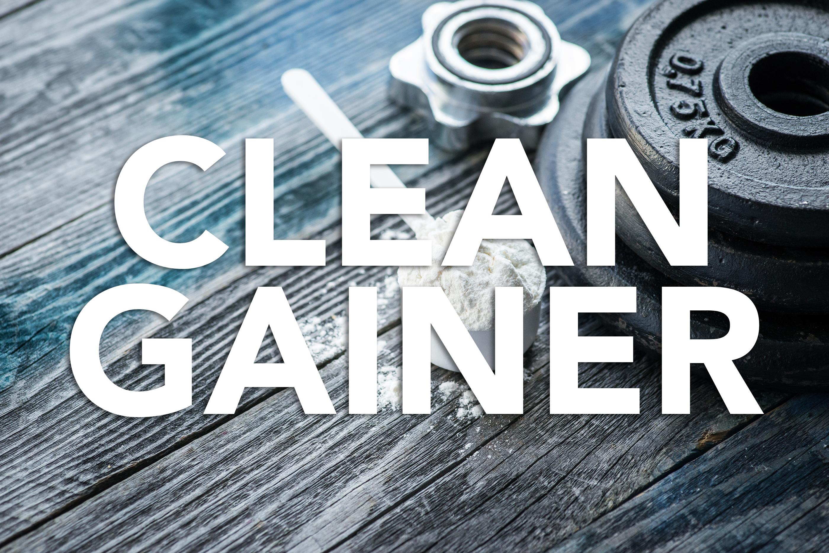 Clean Gainer