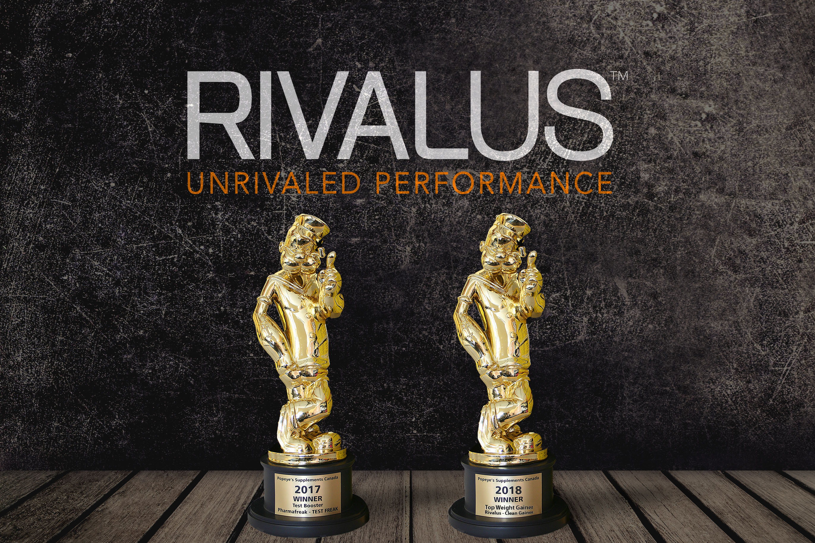 Rivalus Wins, Two Years in a Row!
