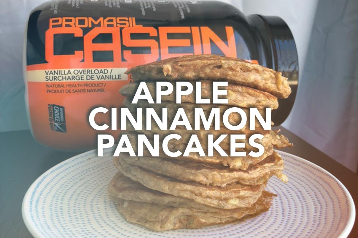 Rivalus At Home Recipes: Apple Cinnamon Pancakes