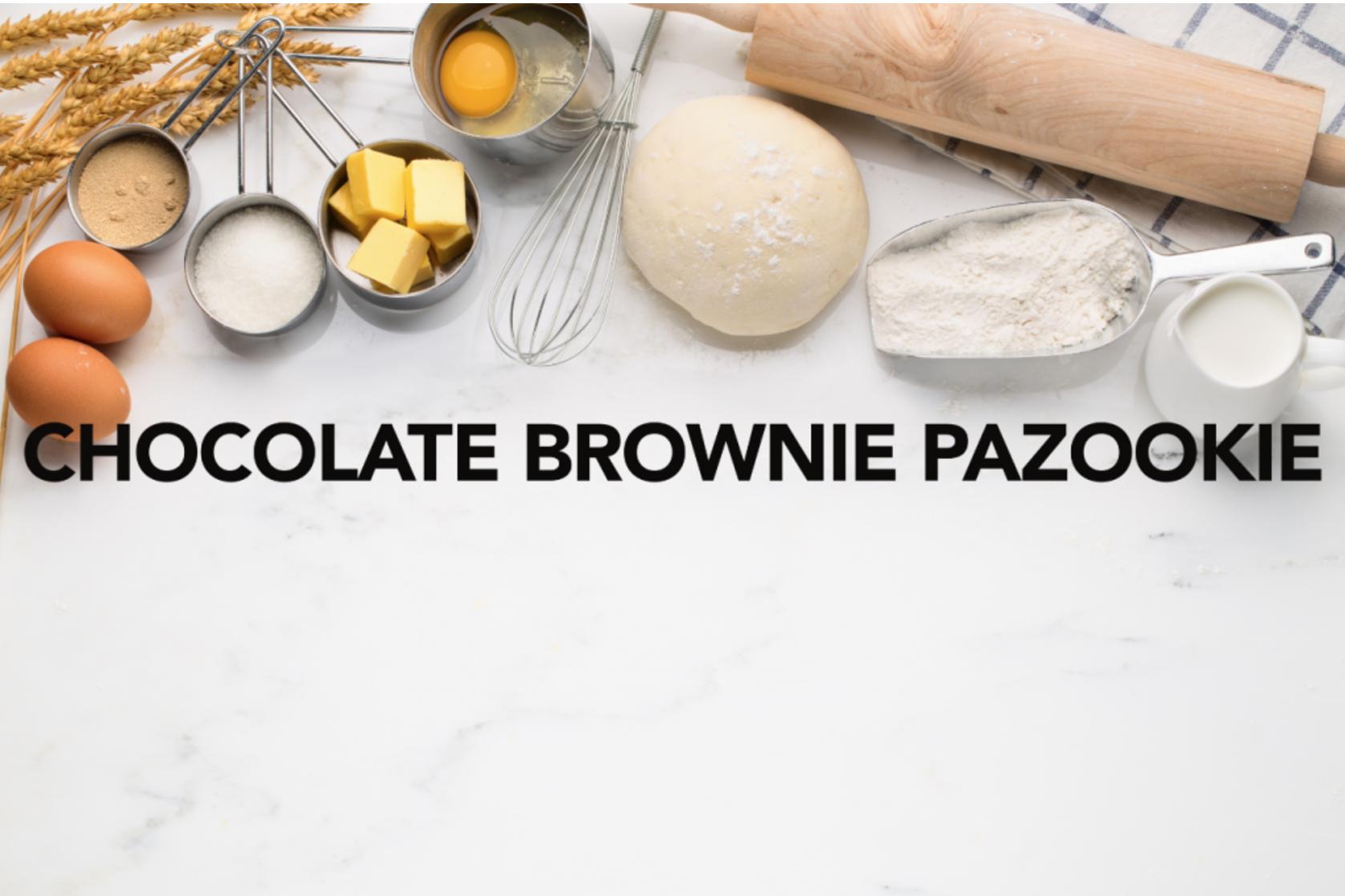 Chocolate Brownie Pazookie