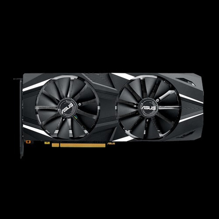 ASUS GeForce RTX 2080 8GB O8G OC GDDR6 DUAL-RTX2080-O8G Video Graphics Card GPU Reconditioned
