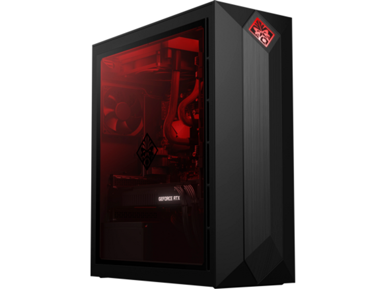 HP Omen Obelisk 875 6FH15AV#ABA i9-9900K 32 GB RAM 1TB HDD RTX 2080Ti 11GB Windows 10 Tower Desktop PC Reconditioned
