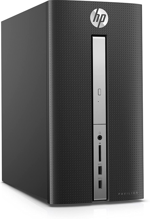 HP Pavilion 570 i5-7400 12GB 1TB i5-7400 12 GB RAM 1TB HDD Windows 10 Tower Desktop PC Reconditioned