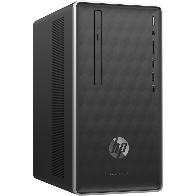 HP Pavilion 590 i5-8400 12 GB RAM 16GB SSD 1TB HDD Windows 10 Tower Desktop PC Reconditioned