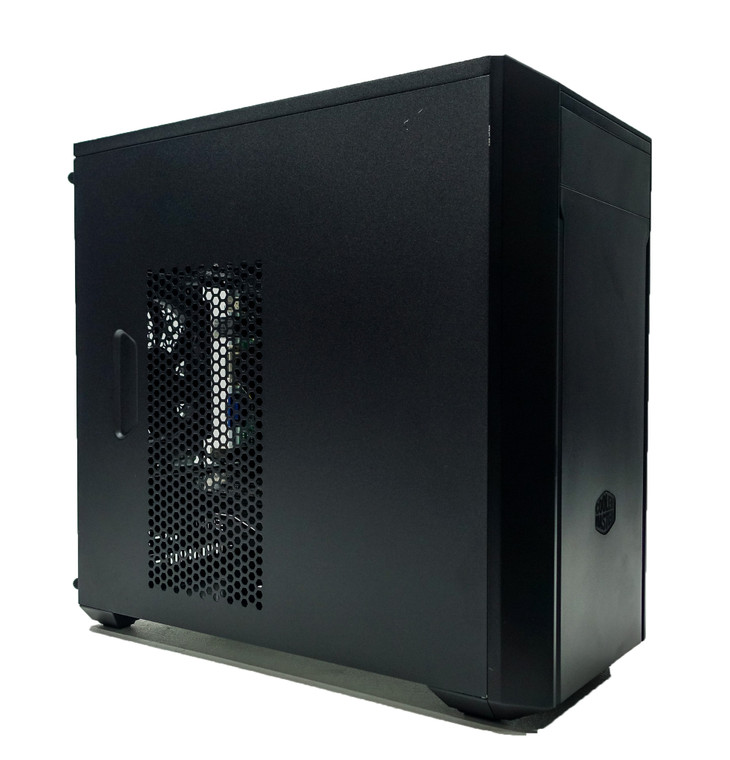 """Custom Gaming PC Computer i5-2400 3.1 GHz 8 GB RAM 256GB 2.5"""" SSD RX 470 4GB Cooler Master MasterBox Lite 3 Reconditioned"""