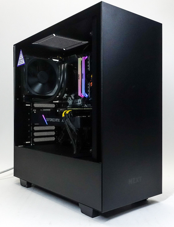 Custom RGB Gaming PC Computer i9-9900KF 16GB 512GB NVME M.2 RTX 2080 Super 8GB NZXT H510 Black Reconditioned
