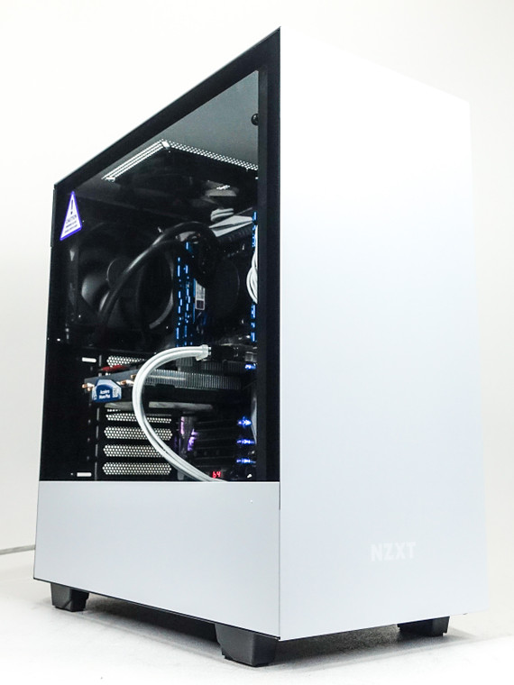 "Custom Gaming PC Computer i7-5930K 3.5 GHz 16 GB RAM 1TB 2.5"" SSD GTX 1080 8GB NZXT H510 White Reconditioned"