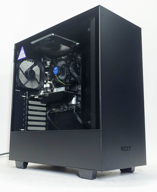 Custom Gaming PC Computer i3-10100F 3.6 GHz 16 GB RAM 240GB M.2 SSD GT 1030 2GB NZXT H510 Black New