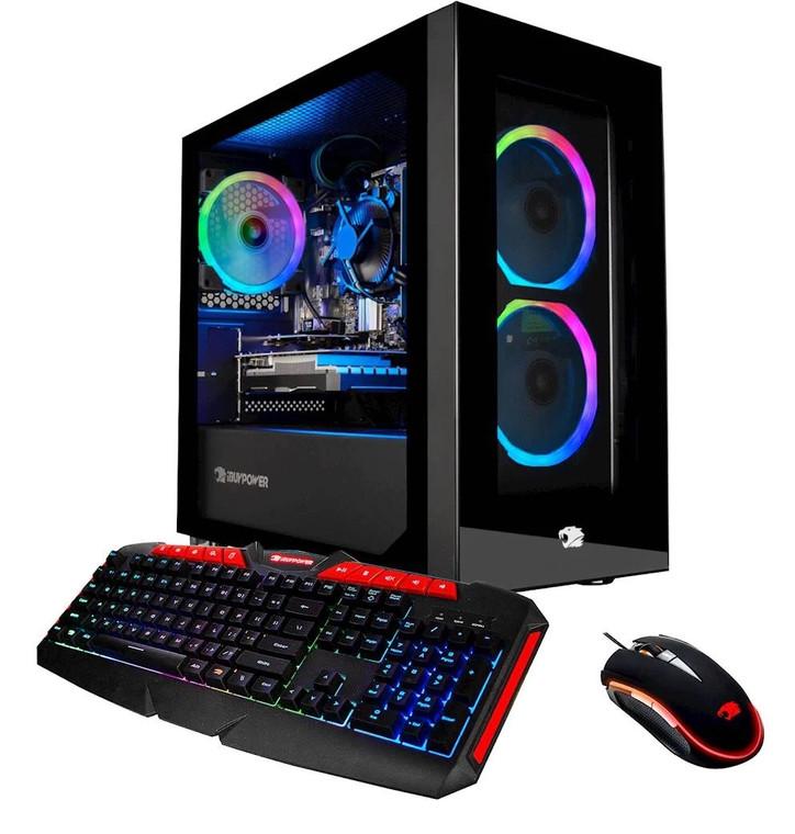 iBUYPOWER WFH002 i3-9100F 16GB 120GB SSD 1TB HDD GT 1030 2GB Windows 10 Desktop Reconditioned