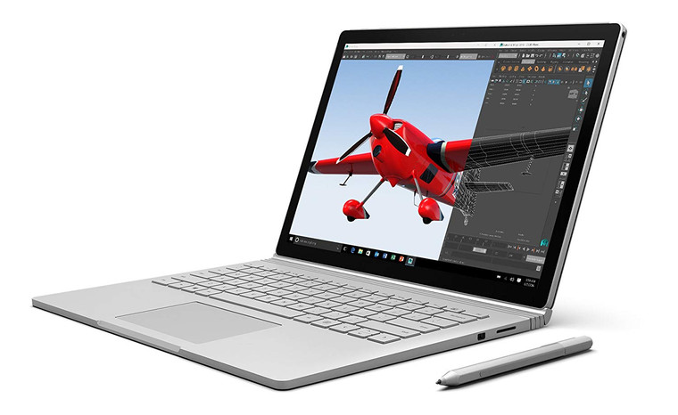 """Microsoft Surface Book i7-6600U 16GB 512GB SSD 13.5"""" Windows 10 2-in-1 Laptop Reconditioned"""
