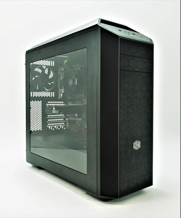 Custom Gaming PC Computer Ryzen 3 1300X 3.5GHz 8GB 128GB SSD 1TB HDD GTX 1050Ti 4GB