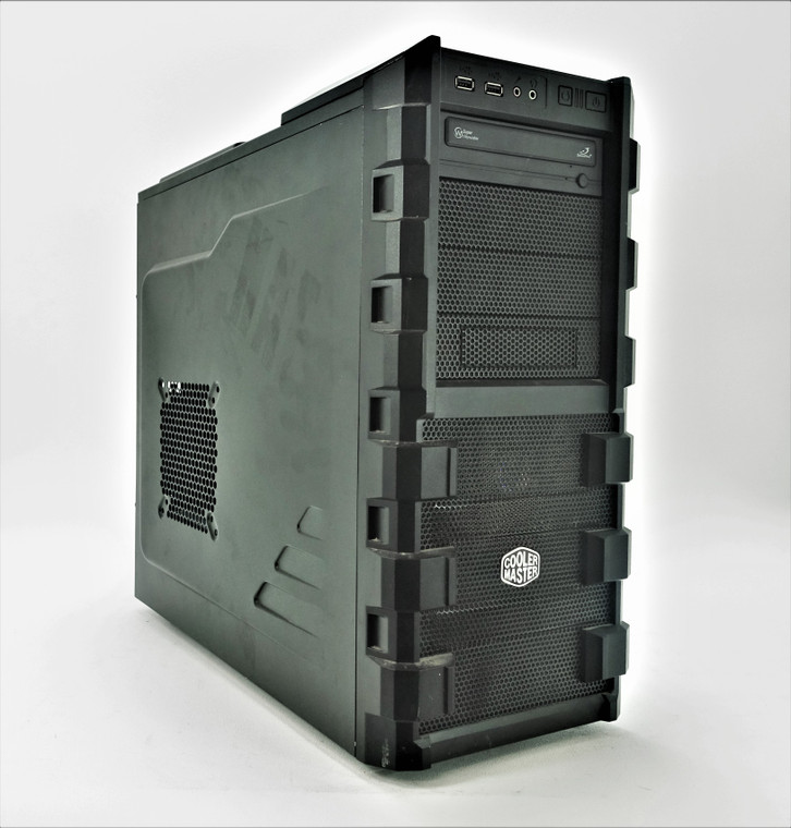 Custom Gaming PC Computer FX-8320 3.5GHz 16GB 256GB SSD 1TB HDD RX 480 8GB Reconditioned