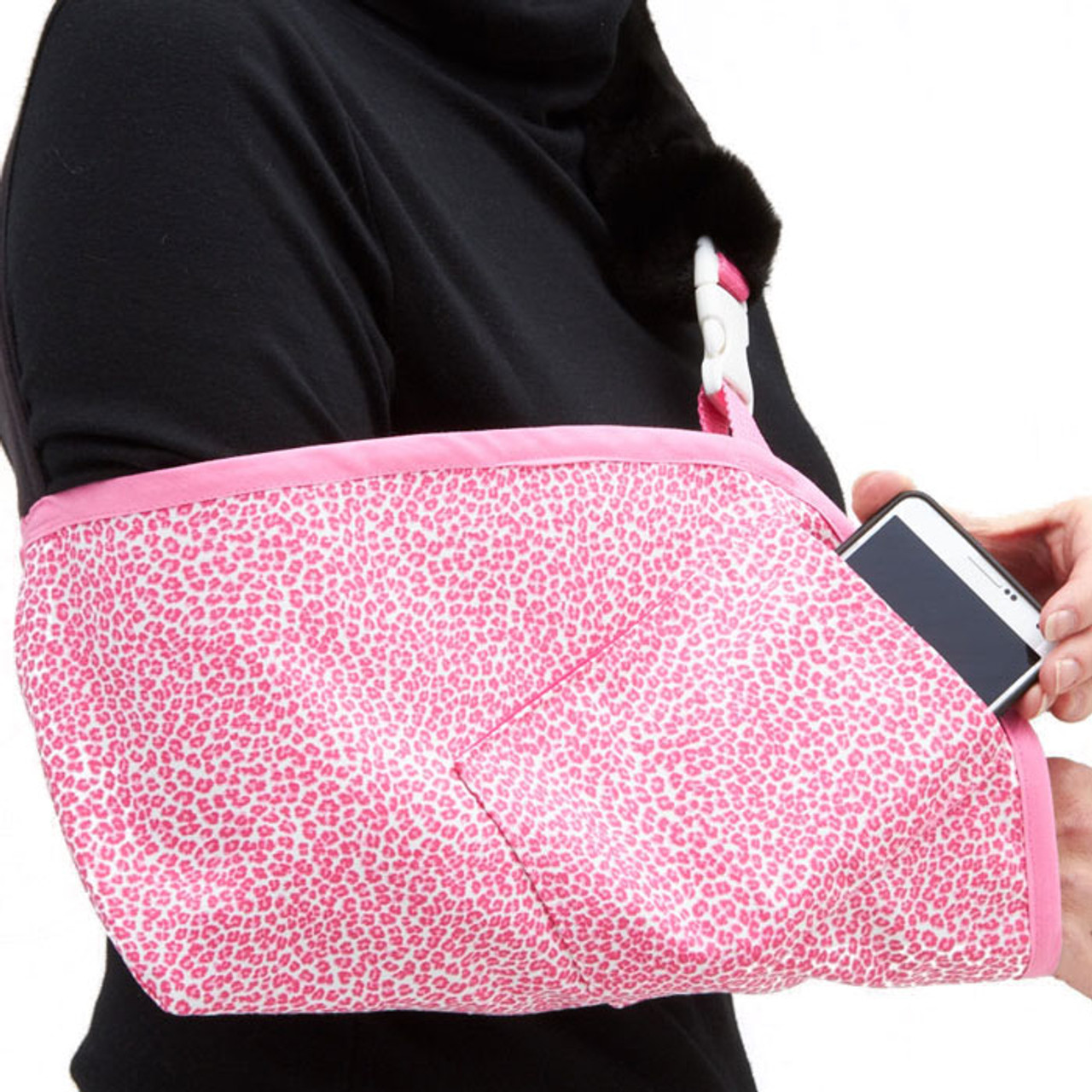 98aac51b2f87 Seeing Spots Pink with optional Berry Pink Trim and Cell Phone pocket.