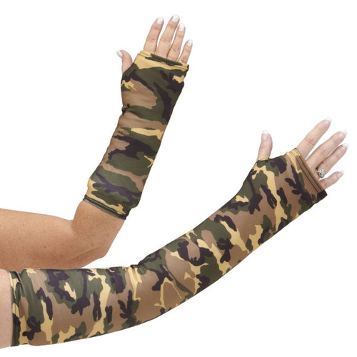 Armz! Cast Cover - Camouflage Green