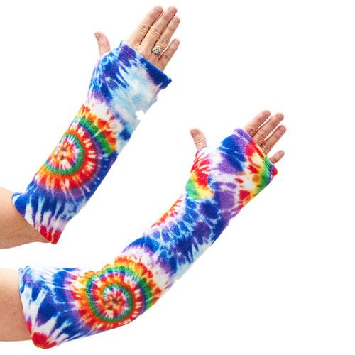 CastCoverz! Sleeperz! for Arms - Tie Dye Bright