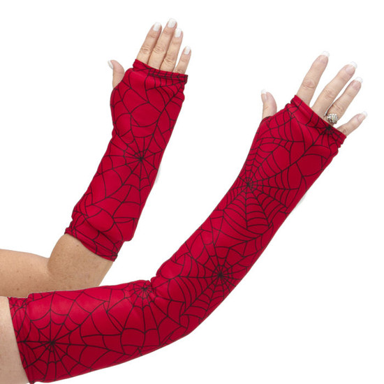 Can you say Spiderman®? Great arm cast cover for the super hero enthusiast! One of our most popular designs for young (and old!).  Available in long OR short arm styles.