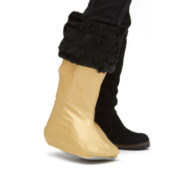 CastCoverz! Bootz! - 24 Karat (Accompanying Cuffz! in Black SOLD SEPARATELY)