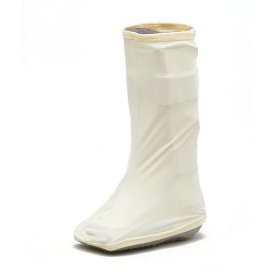 Bootz! in Ivory. A necessary accessory if you're attending a formal event AND in a boot.  Ivory...solid, classic...Ivory.