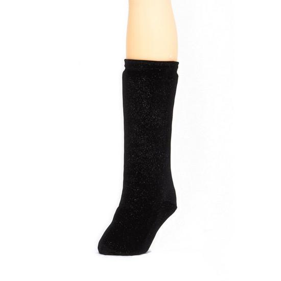 CastCoverz! Legz! - Glitter Twinkle Black Velvet
