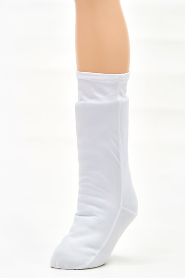 Legz! in Classic White.  Two helpful tips:  1.  Best if used for special occasions only.   White gets dirty fast, especially on a leg cast! :)   2.  Depending on the color of your cast, you may want to double layer it (with another white or nude).