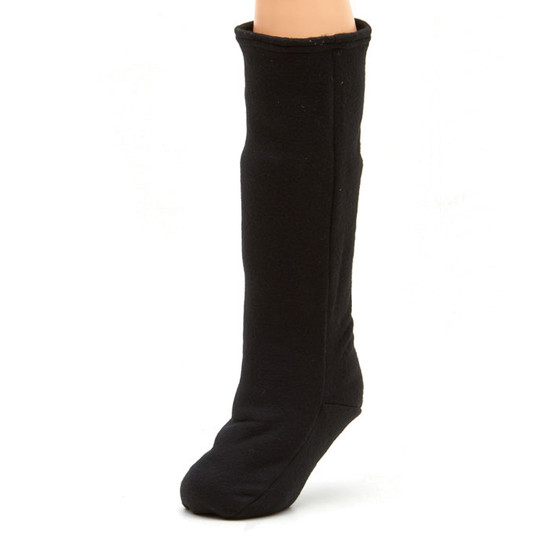 CastCoverz! Sleeperz! for Legs - Black on Black Fleece