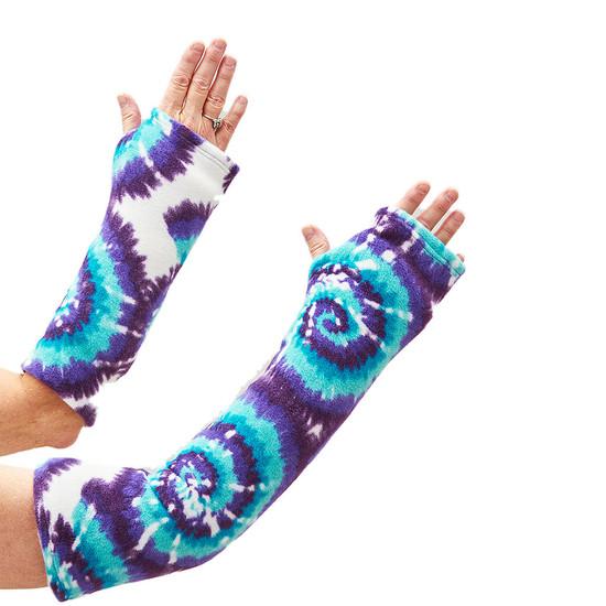 CastCoverz! Sleeperz! for Arms - Tie Dye Aqua