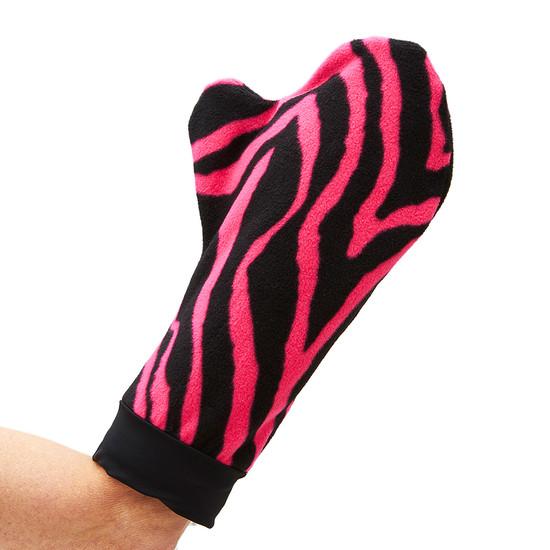 CastCoverz! Mittz! Cozy - Zebra Pinked