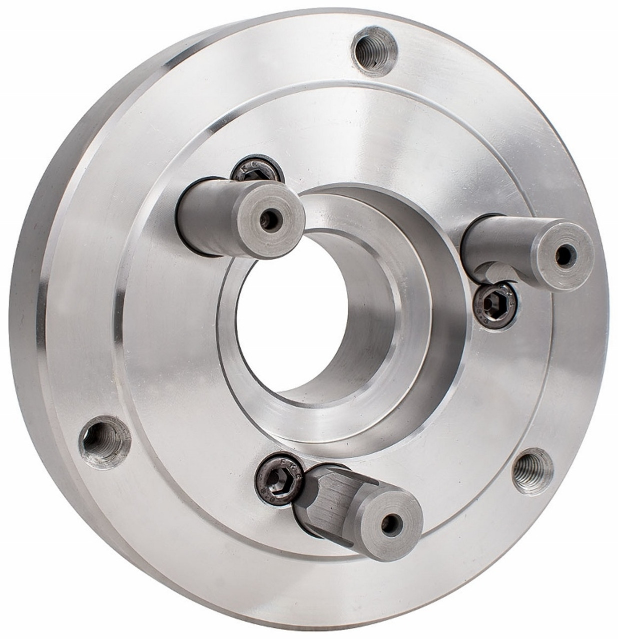"""8/"""" D1-3 Back Plate For 8/"""" 3 and 6 Jaw Zero-Set Lathe Chucks Need Machine D1"""