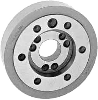 "Bison Semi-Finished A1-8 Adapter Plate 7-873-108 for 10"" Chucks"