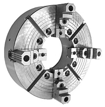 Bison 32 4 Jaw Independent Extra Large Thru Hole Oil Country Chuck A2-15 Mount 7-859-3243
