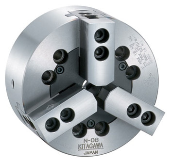 Kitagawa 24 3 Jaw Closed Center Power Chuck A2-15 Adapter N-24A15