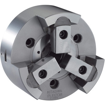 Kitagawa 6 3 Jaw Pull Lock Power Chuck Plain Back PU-206