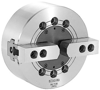 Kitagawa 8 2 Jaw Closed Center Power Chuck Plain Back NLT-08