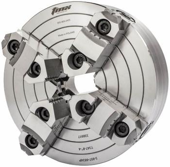 TMX 8 4 Jaw Independent Manual Chuck D1-4 Mount 3-857-0834P