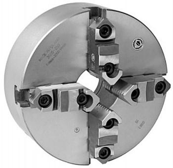 Bison 20 4 Jaw Self Centering Manual Chuck Plain Back 7-840-2000