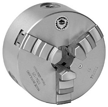 Bison 8 3 Jaw Self Centering Manual Chuck Plain Back 7-810-0800