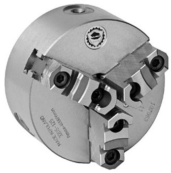 Bison 8 3 Jaw Self Centering Manual Chuck 2-38 - 6 Thread Mount 7-805-0854